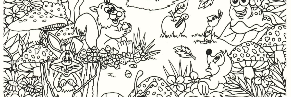 Kleurplaten De Herfst.Herfst Kleurplaten Van Suzanne Crea Met Kids