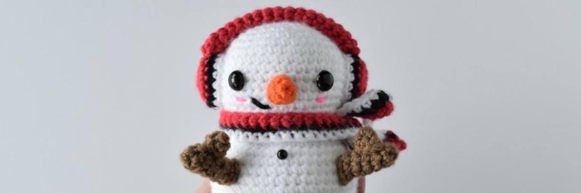Gratis Haakpatroon Sneeuwpop Crea Met Kids