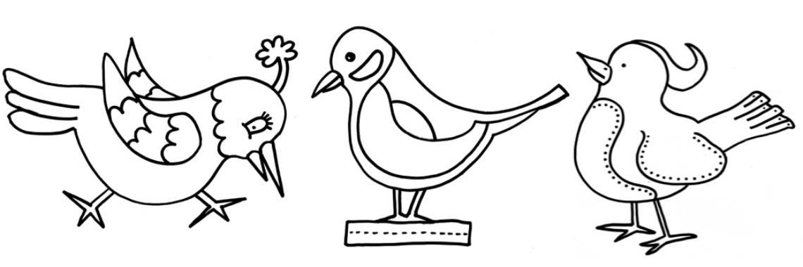 kleurplaten vogels 187 crea met
