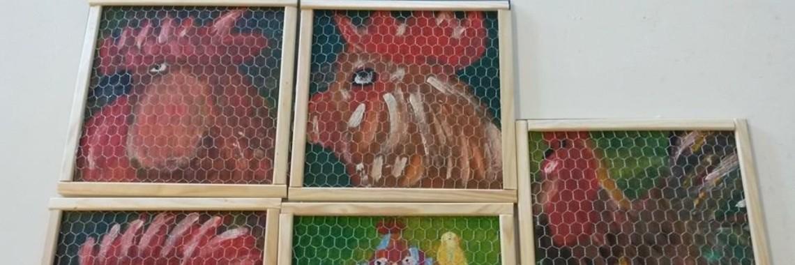 Onwijs Kippen schilderen op hout » Crea met kids XA-49