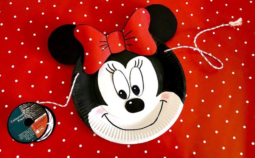 feest versiering minnie mouse knutselen 187 crea met