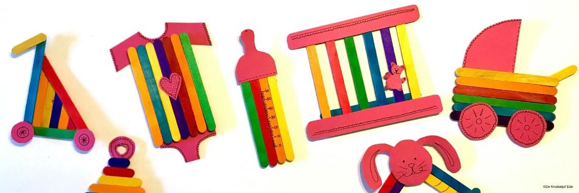 babyspulletjes knutselen met houten ijslollystokjes 187 crea